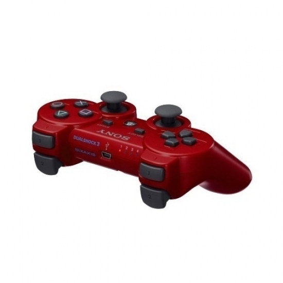 Sony Ps3 Dual Shock 3 Red