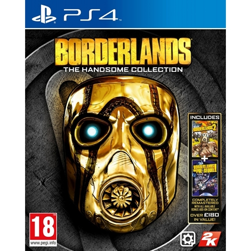 Ps4 Borderlans The Handsome Collection
