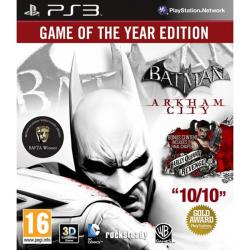 Ps3 Batman Arkman Cıty Goty
