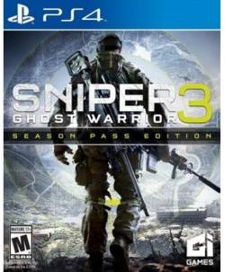 Ps4 Sniper Elite 3 Ghost Warrior