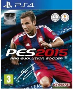 Ps4 Pes 15 Pro Evolution Soccer 2015