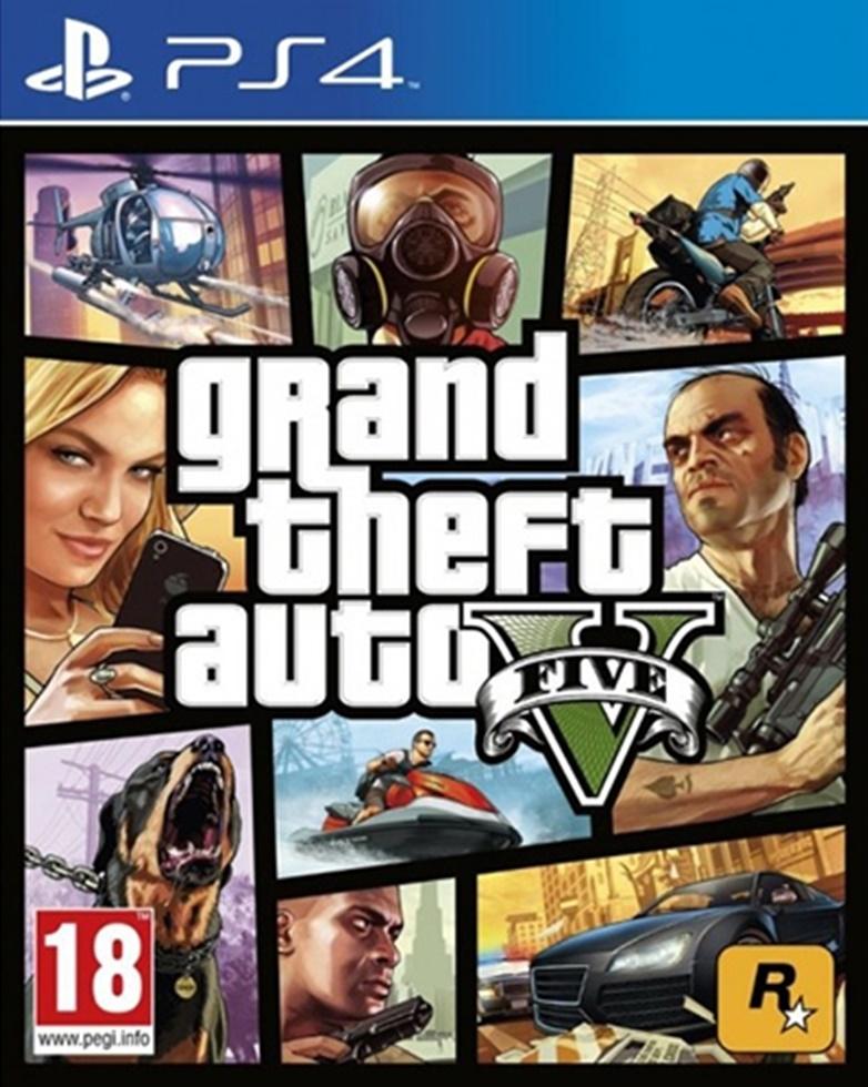 Ps4 Gta 5 Grand Theft Auto 5