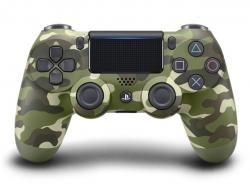 Sony Ps4 DUALSHOCK 4 V2 Wireless Controller Green Camouflage (CUH-ZCT2G 16)