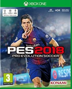 Xbox One Xbox1 Pro Evolution Soccer PES 2018 Pes 18