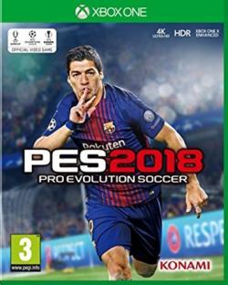 Xbox One Xbox1 Pro Evolution Soccer PES 2018 Pes 18