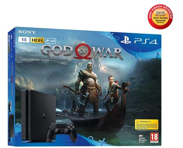 Sony Ps4 1 Tb Slim + God Of War Cuh-2116B Sony Eurasia Garantili 24 Ay Garantili