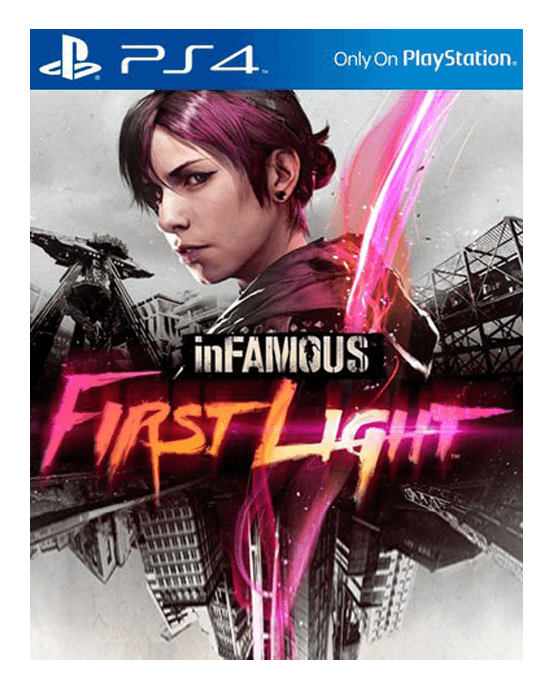 Ps4 Infamous First Light