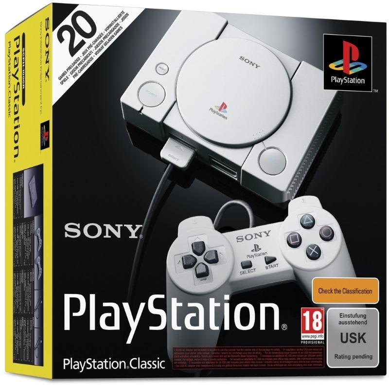 Sony Playstation Classic Mini Oyun Konsolu ( 20 Adet Oyun Yüklü )