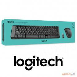 LOGİTECH MK220 Wireless Combo Klavye Mouse Kablosuz