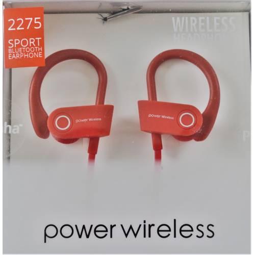 Piranha 2275 Bluetooth Spor Kulak Arkası Kulaklık Kırmızı