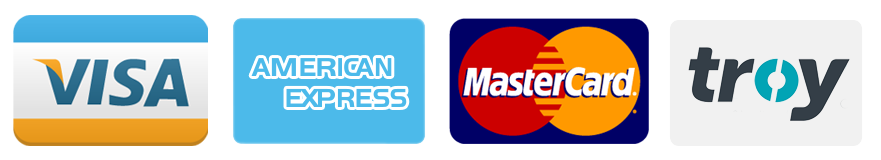 ödeme yapabileceğiniz kredi kartları
